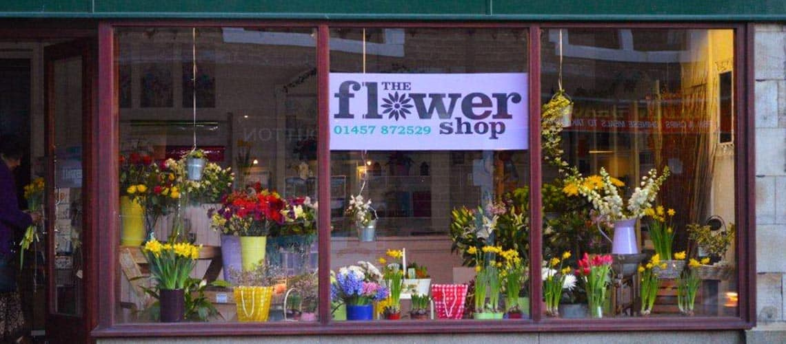 Florists in Uppermill, The Flower Shop