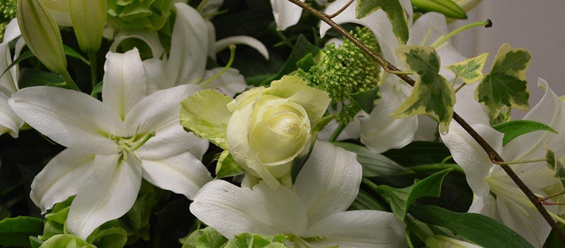 Sympathy flowers Uppermill