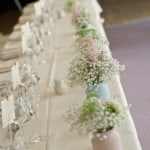gypsophila table decorations