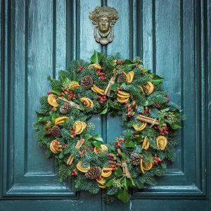 Back by popular demand! Our 5th annual Christmas wreath-making workshop